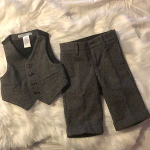 Janie and Jack 2 Piece Wool Suit